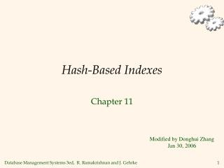Hash-Based Indexes