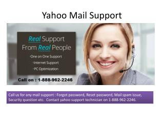 Contact Yahoo Mail Support - 1-888-962-2246 | Yahoo Technica