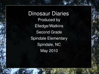 Dinosaur Diaries