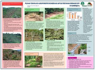 A. Masalah sehubungan dengan pembukaan hutan di kawasan Lindung