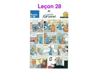 Le�on 28