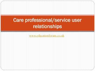 Care professional
