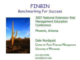FINBIN Benchmarking For Success