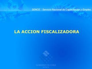 FILOSOF A DE LA FISCALIZACI N