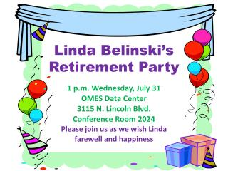 Linda Belinski�s  Retirement Party