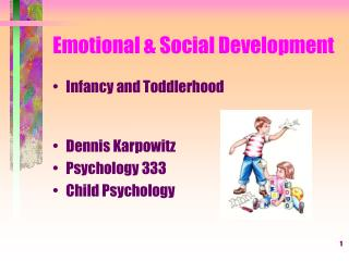 Emotional  Social Development