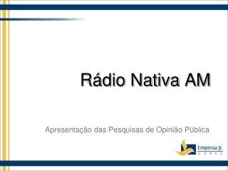 Rádio Nativa AM