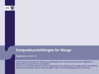 Konjunkturutviklingen for Norge