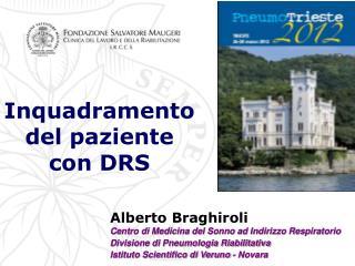 Inquadramento del paziente con DRS