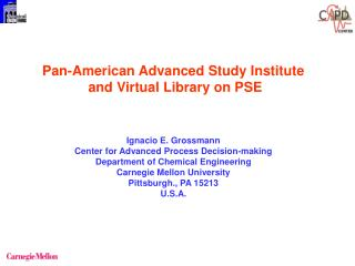 Pan-American Advanced Study Institute  and Virtual Library on PSE