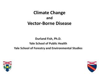 Climate Change and Vector-Borne Disease