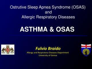 ASTHMA & OSAS