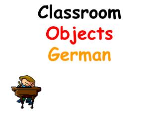 Classroom Objects German