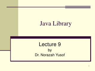 Java Library