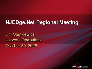 NJEDge.Net Regional Meeting
