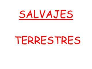 SALVAJES