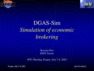 DGAS-Sim Simulation of economic brokering