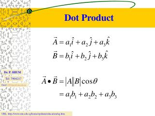 Dot Product
