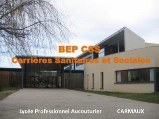 Lycée Professionnel Aucouturier           CARMAUX