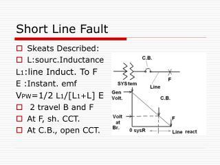 Short Line Fault