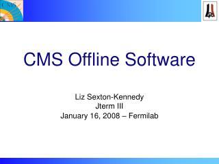 CMS Offline Software