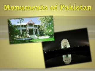 Monuments of Pakistan
