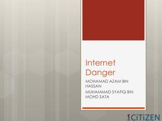 Internet Danger