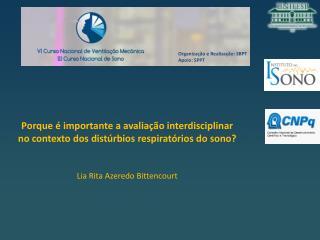 Organização e Realização: SBPT Apoio: SPPT