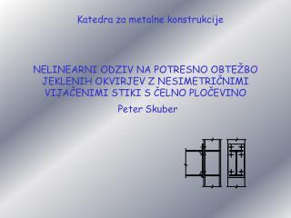 P eter Skuber