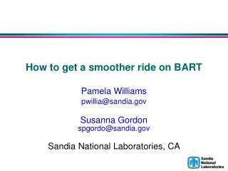 How to get a smoother ride on BART