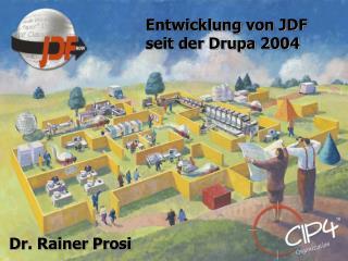Entwicklung von JDF seit der Drupa 2004