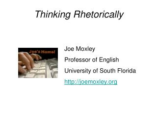 Thinking Rhetorically