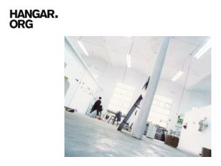 Hangar is a centre for research and production in visual arts.