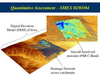 Quantitative Assessment – SMEX 02/03/04