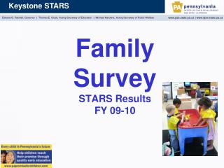 Family Survey STARS Results FY 09-10