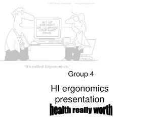 HI ergonomics  presentation