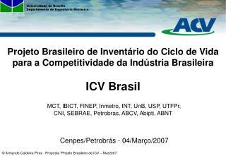 Cenpes/Petrobrás - 04/Março/2007