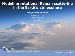 Modeling rotational Raman scattering in the Earth's atmosphere