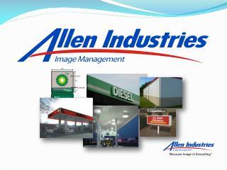 Allen Image Management AIM Department A   D i v i s i o n  o f  A l l e n  I n d u s t r i e s ,  I n c .    CORPORATE I