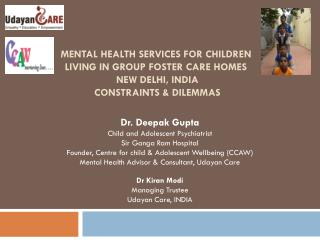 Dr. Deepak Gupta Child and Adolescent Psychiatrist Sir Ganga Ram Hospital