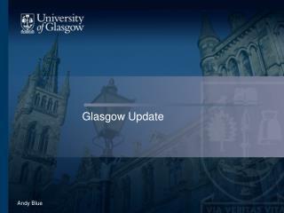 Glasgow Update
