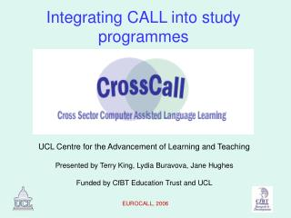 Integrating CALL into study programmes