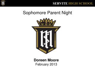 Sophomore Parent Night