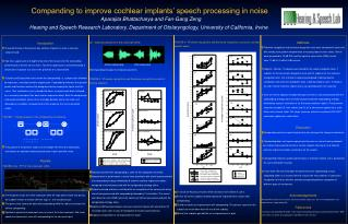 Companding to improve cochlear implants' speech processing in noise