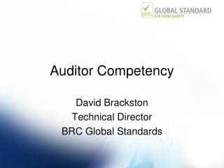 Auditor Competency