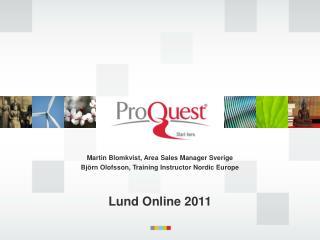 Lund Online 2011