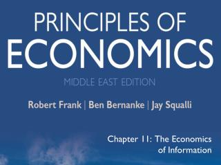 Chapter 11: The Economics of Information