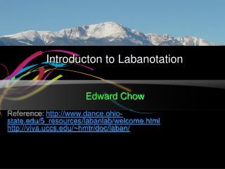 Introducton  to  Labanotation