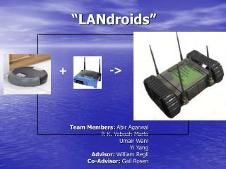 """""""LANdroids"""""""