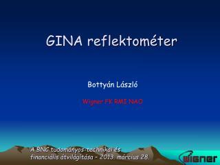 GINA reflektométer